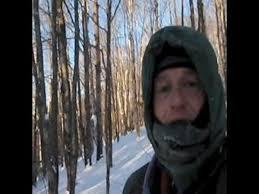 minus 26º minnesota backpack hammock quest on the sht youtube