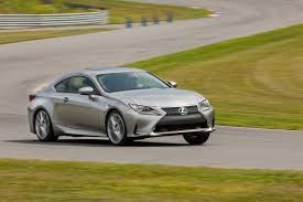 lexus rc 200t lexus turbocharges 2016 rc coupe adds v6 awd version too in the u s