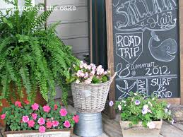 summer garden party event french country cottage patio outdoor