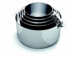 batterie de cuisine beka evolution série 3 casseroles 16 18 20 poignée amovible beka la