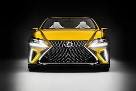 lexus yellow sports car lexus envisions future with lf c2 concept u2022 carfanatics blog