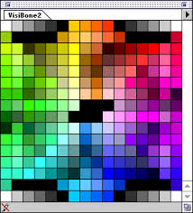 visibone swatch collections