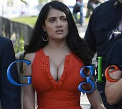 Salma Hayek Meme - the best google logo ever google partners with salma hayek pic
