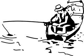 clipart fishing boat