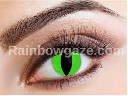 halloween green raptor daily contact lenses u2013 rainbowgaze