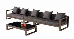 Outdoor Sofa Sets by Amber Modern Outdoor 5 Seater Sectional Sofa Set