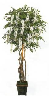 artificial wisteria tree foter