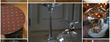 wine glass snow globes goblet snow globe diy tutorial beesdiy