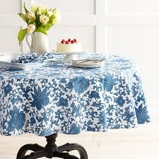 Williams Sonoma Table Linens - floral table linens hotel val decoro