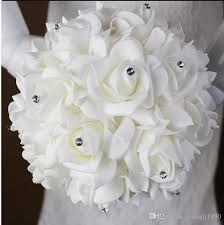 Wedding Bouquets Cheap Cheap Elegant Rose Artificial Wedding Bouquets Cheap Bridal