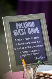 polaroid guest book album creative of wedding ideas for guests 1000 wedding