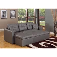 canapé gris simili cuir canapé d angle lit convertible girly gris en simili cuir