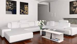 White Leather Living Room Furniture Decorate Living Room White Leather Sofa Gopelling Net