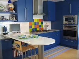 Blue Kitchen Countertops by Endearing Marble Kitchen Countertop Ideas With Stainless Steel