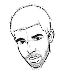 draw graphic content how to draw drake in 8 easy steps myspace