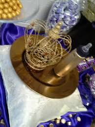 purple u0026 gold royal baby shower crown and golden bottle the
