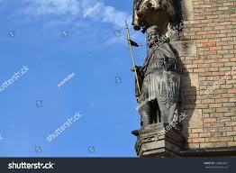 statue saint wenceslas i duke bohemia stock photo 132865667