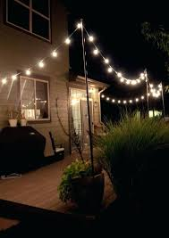 Patio String Lighting by Led Lights Strings Outdoor Colorful Outdoor Patio String Lights