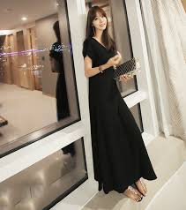 black short sleeves maxi dresses ideas