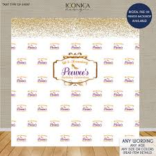 step and repeat backdrop photo booth backdrop 60th birthday or any age step and