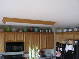 above kitchen cabinet decor floating cabinets tile backsplash