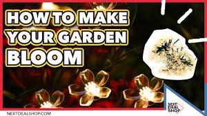 Flower String Lights by Solar Powered Blossom Flower String Lights How To Make Your