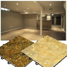 Flooring For Basements by Slate Look Flooring Interlocking Basement Floor Tiles Made In Usa