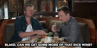 Blake Shelton Meme - rice wine gifs get the best gif on giphy