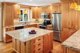 Custom Cabinets And Kitchens Stuaffer Woodworking - Birch kitchen cabinet