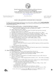 Resume Examples For Nursing Assistant by Sample Resume For Certified Nursing Assistant Free Resume