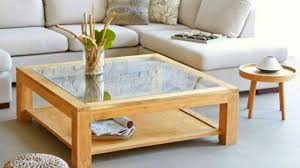 Dining And Coffee Table Ideas  Wood Glass Rock Design - Glass table designs