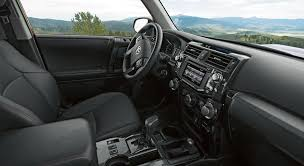 toyota tundra trd pro interior what makes the 2015 4runner trd pro trim different