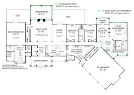 pepperwood ranch home plan open home floor plan house floor