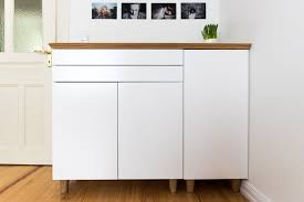 credenza ikea ikea credenza how to turn three ikea besta cabinets into a