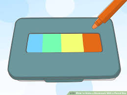 spacemaker pencil box how to make a bookmark with a pencil box 11 steps with pictures