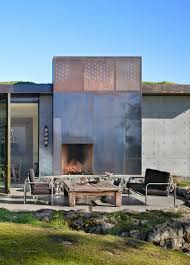Outdoor Fireplace Surround by 59 Best Fireplaces Images On Pinterest Architecture Fireplace