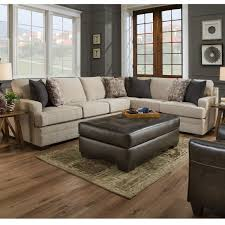 Simmons Sectional Sofas Simmons 9165br Macy Sand Sectional Sofa Home Furnishings