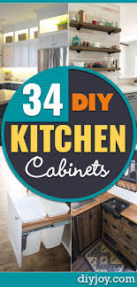 kitchen cabinet colors diy 34 diy kitchen cabinet ideas