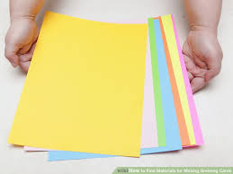 3 ways to find materials for greeting cards wikihow