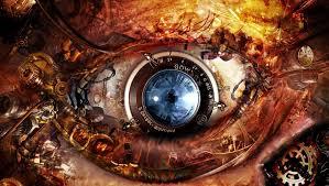 mechanical eye design wallpaper wizardz u0026 sorcererz