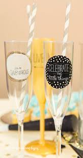 new years chagne flutes diy easy chagne flutes the wandering