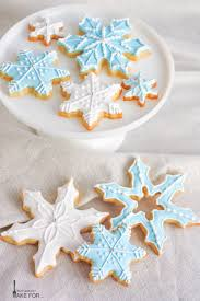 Decorating Icing For Cookies Snowflake Cookies What Should I Make For