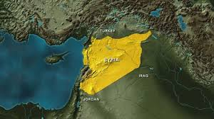 Damascus Syria Map Us Led Coalition Strikes Kill Pro Regime Forces In Syria