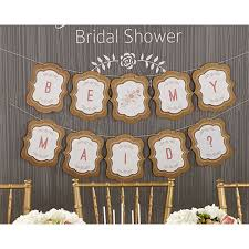 rustic bridal shower favors personalized banner kate s rustic bridal shower collection