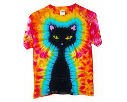 halloween tie tie dye shirt kids black cat tie dye shirt halloween shirt