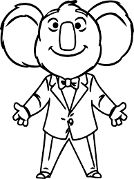 buster moon sing movie coloring page wecoloringpage