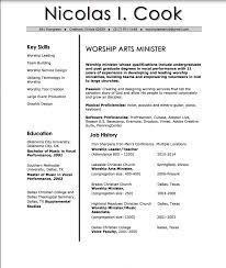 Sample Ministry Resume by Sample Ministry Resume Resume For Your Job Application
