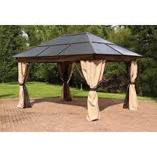 Gazebos With Hard Tops by Gazebos With Polycarbonate Roof Picture Pixelmari Com