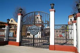 the main entrance gates to and fences front ideas gate hard rock