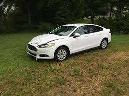 bid 2 win 2014 ford fusion s runs and drives wrecked salvage rebuildable